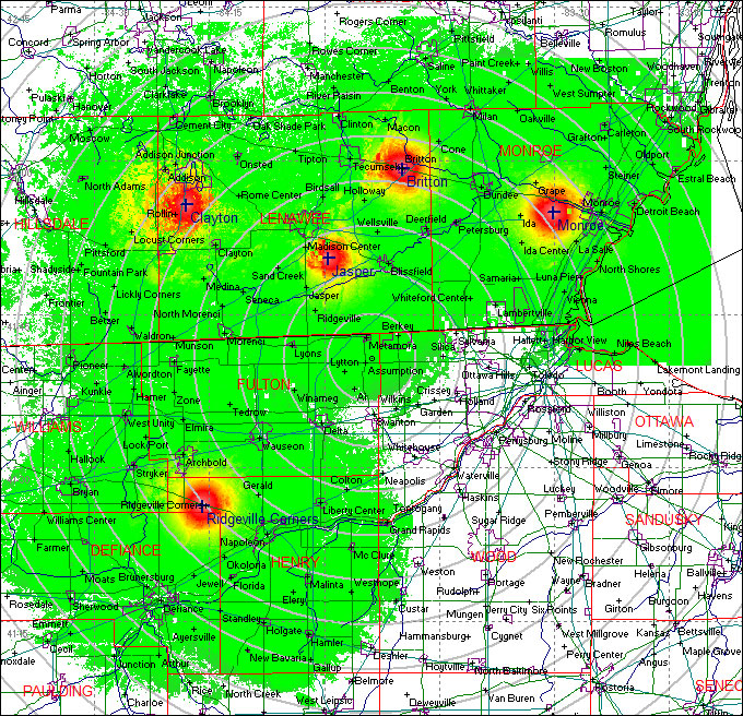 PAS RTK Coverage Area